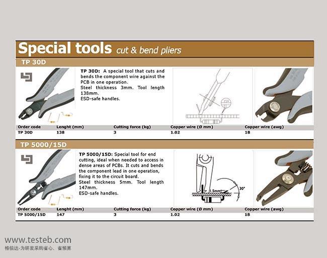 TP5000-15 元件引脚成形钳