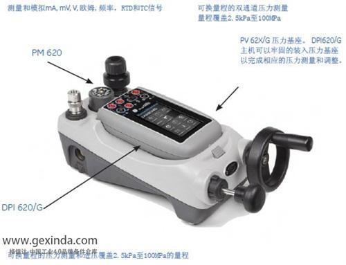 DPI620Genii HART475手操器