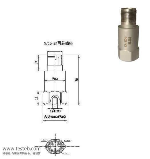 CA-YD-170 振动传感器