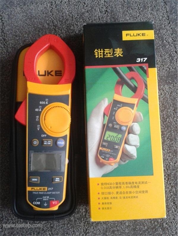 fluke317 钳形电流表