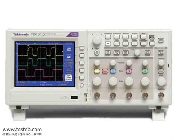 tds2012c 数字示波器