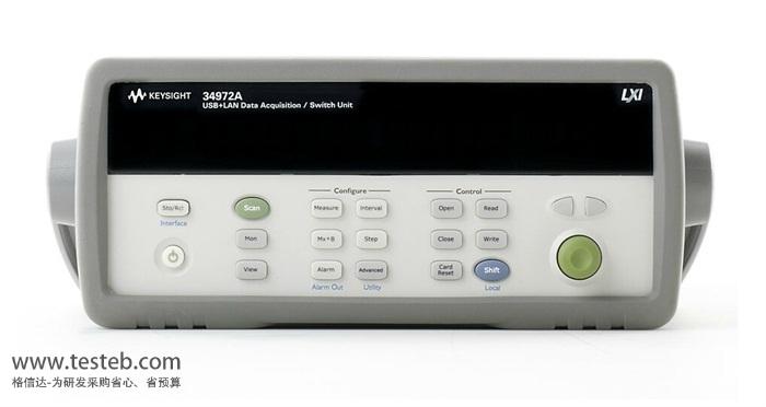 agilent-34972a 数据采集器