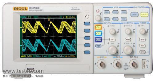 DS1102E 数字示波器