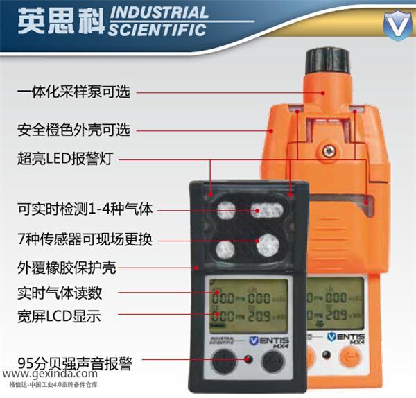 MX4-Ventis 气体检测仪