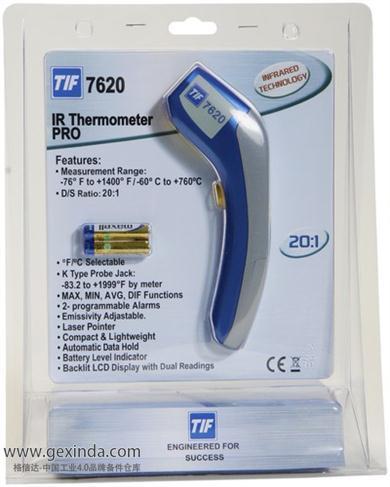 TIF7620 便携式测温枪