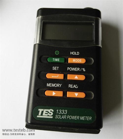 TES-1333 辐照计/照度计