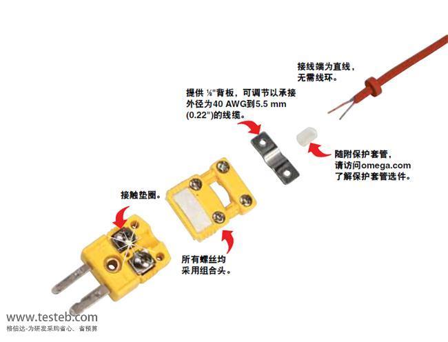 SMPW-CC-K-M 热电偶感温线