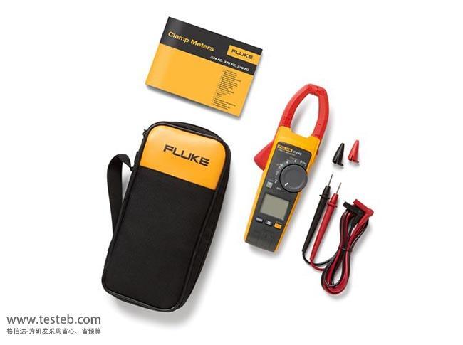 fluke 376fc钳形表1000v/a交直流电压电流