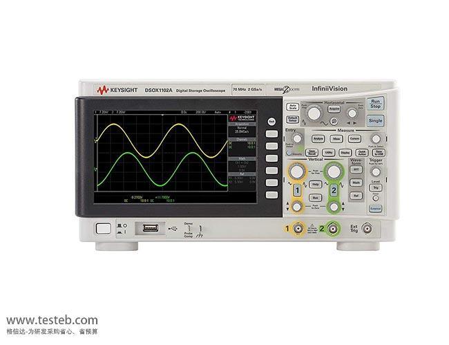 DSOX1102A 数字示波器